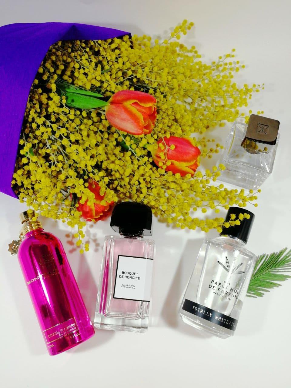 распивы парфюмерии